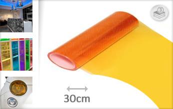 Oranje lampen folie